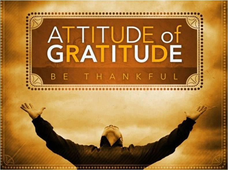 The Right Attitude of Gratitude Enriches Your Life In All Aspects